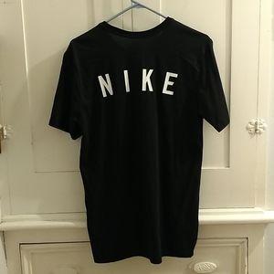 Nike Dri-fit black golf tee Men's Sz M